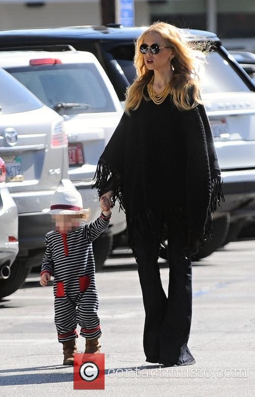 Rachel Zoe and Kaius Jagger Berman 9