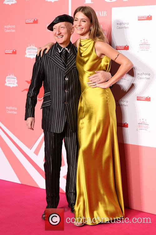 Stephen Jones and Millie Mackintosh