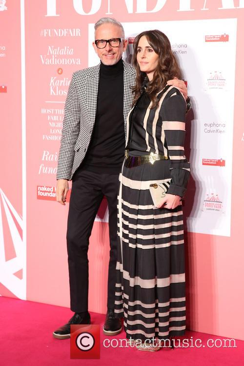 Patrick Cox and Tania Fares