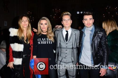 Emma Lou Connolly, Chloe Lloyd, Oliver Proudlock and Josh Cuthbert 1