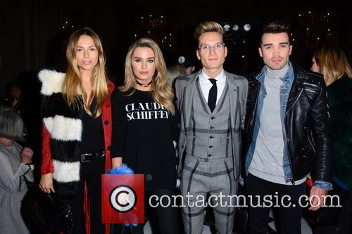 Emma Lou Connolly, Chloe Lloyd, Oliver Proudlock and Josh Cuthbert 2