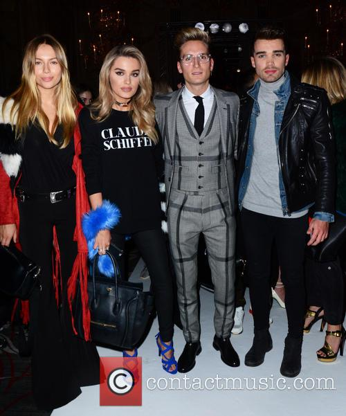 Emma Lou Connolly, Chloe Lloyd, Oliver Proudlock and Josh Cuthbert 3