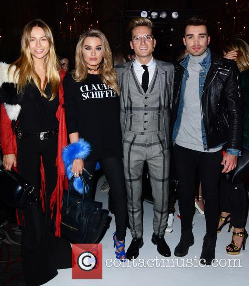 Emma Lou Connolly, Chloe Lloyd, Oliver Proudlock and Josh Cuthbert 4