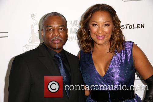 Levar Burton and Stephanie Cozart Burton 3