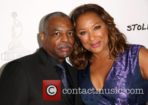 Levar Burton and Stephanie Cozart Burton 4