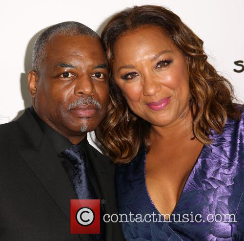 Levar Burton and Stephanie Cozart Burton 5