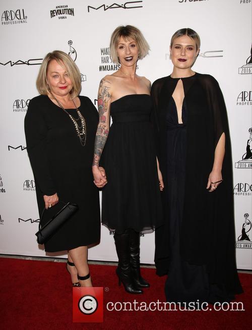 Emma Johnston Burton, Molly Tissavary and Ela Barczewska 1