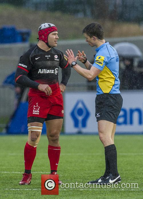 Schalk Brits Being Sent Off 1
