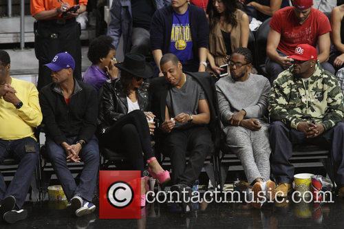 Jay Z, Beyonce' and Kendrick Lamar 2