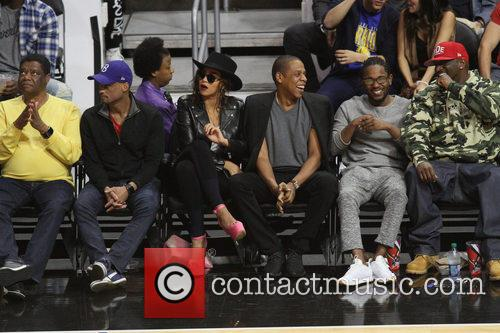 Beyonce', Jay Z and Kendrick Lamar 5