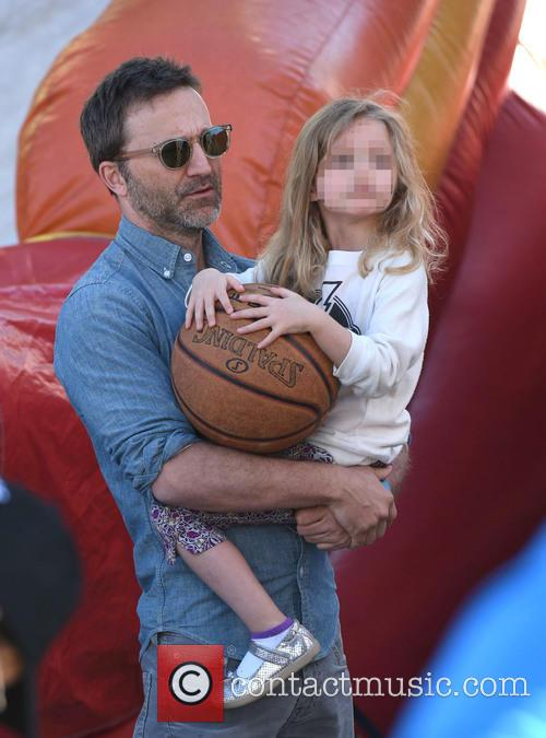Breckin Meyer and Clover Meyer 6