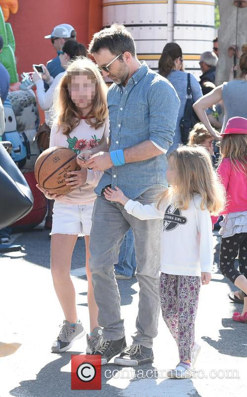 Breckin Meyer, Clover Meyer and Caitlin Willow Meyer 7