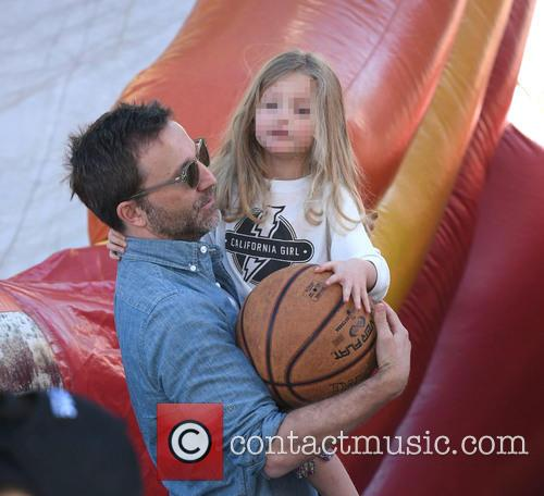 Breckin Meyer and Clover Meyer 11