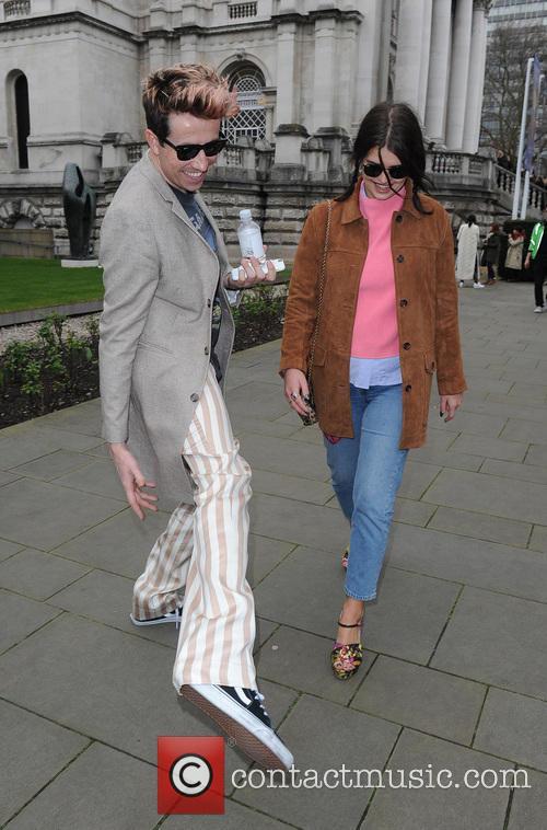 Nick Grimshaw and Pixie Geldof 3