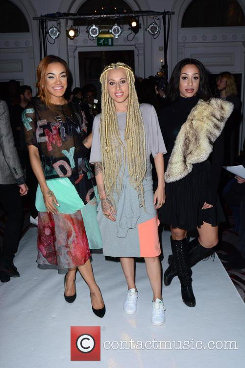 Alexandra Buggs, Karis Anderson, Courtney Rumbold and Stooshe 4