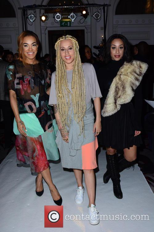 Alexandra Buggs, Karis Anderson, Courtney Rumbold and Stooshe 5