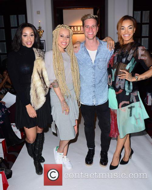Alexandra Buggs, Karis Anderson, Courtney Rumbold and Stooshe 7