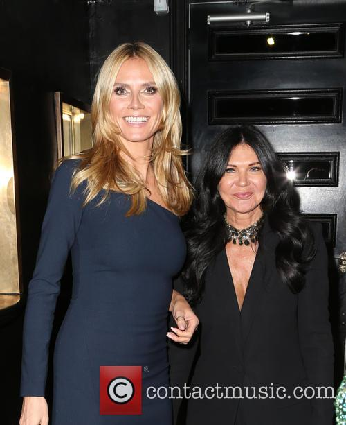 Heidi Klum and Wendy Iles 1