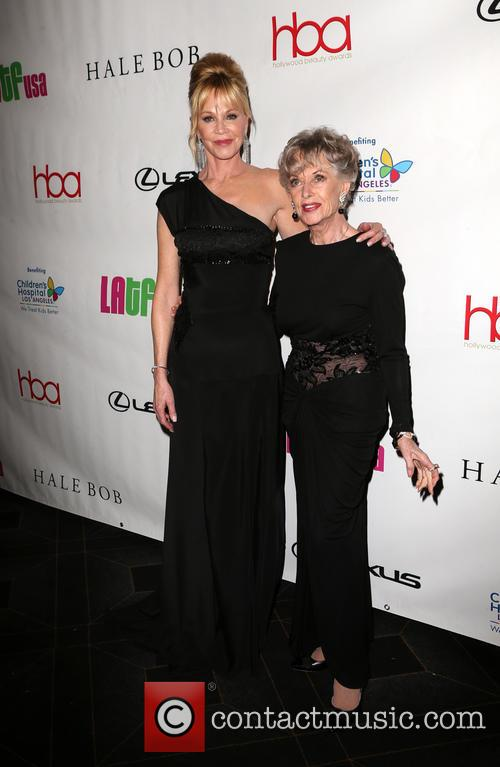Melanie Griffith and Tippi Hedren 2