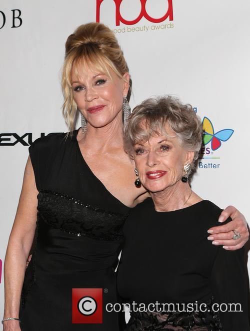 Melanie Griffith and Tippi Hedren 3