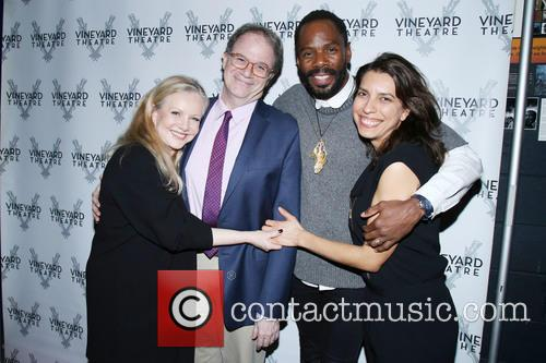 Susan Stroman, Douglas Aibel, Colman Domingo and Sarah Stern 1