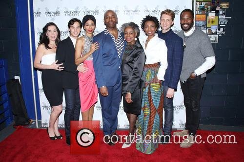 Finnerty Steeves, Michael Rosen, Libya V. Pugh, Stephen Conrad Moore, Marjorie Johnson, Sharon Washington, Colin Hanlon and Colman Domingo 1