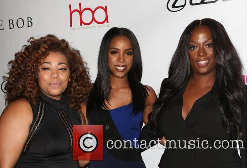 Tippi Shorter, Kelly Rowland and Sheika Daley 2