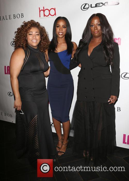 Tippi Shorter, Kelly Rowland and Sheika Daley 4