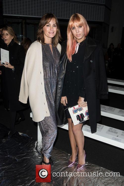 Yasmin Le Bon and Amber Le Bon 1