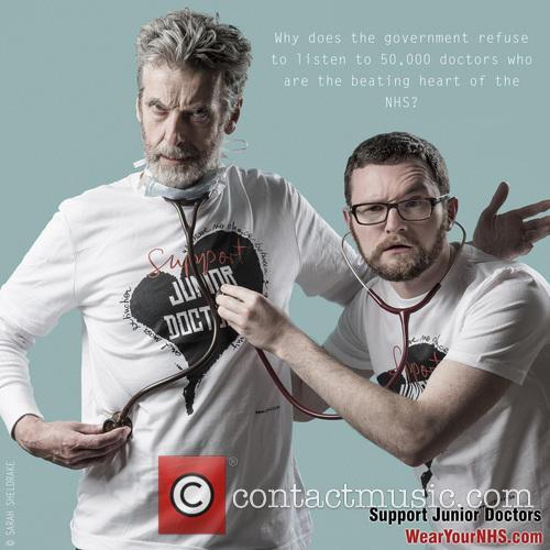 Peter Capaldi and Dr James Main 9