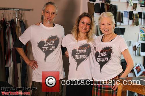 Ben Westwood, Dr Lauren Gavaghan and Vivienne Westwood 1