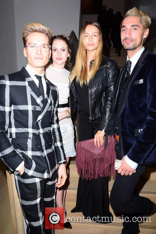 Oliver Proudlock, Rosie Fortescue, Emma Lou Connolly and Hugo Taylor 1