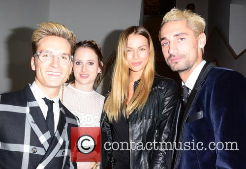 Oliver Proudlock, Rosie Fortescue, Emma Lou Connolly and Hugo Taylor 2