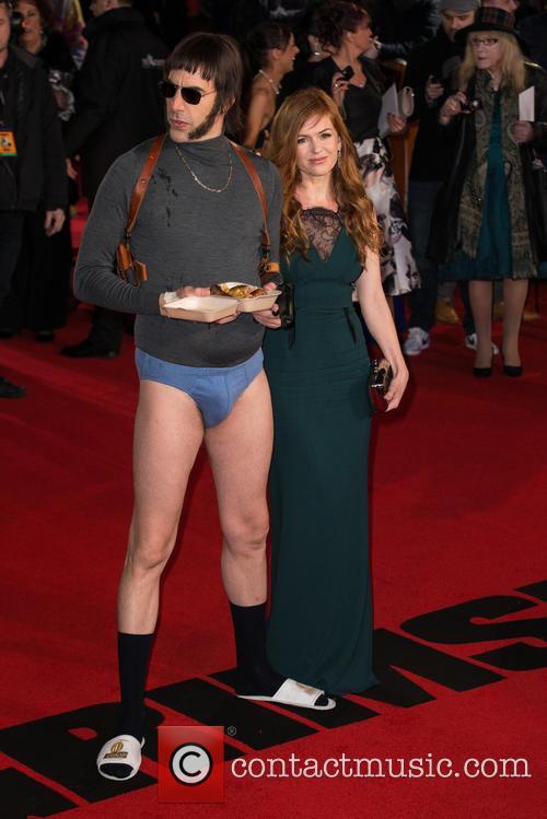 Sacha Baron Cohen, Nobby and Isla Fisher 6