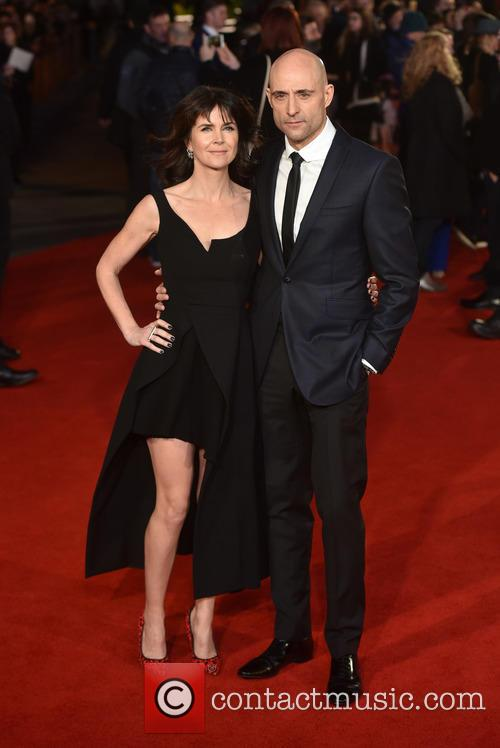 Mark Strong and Liza Marshall 1