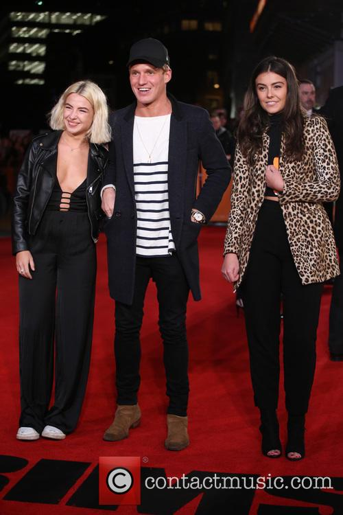 Jess Woodley, Jamie Laing and Guest 1