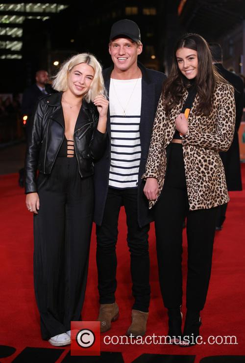 Jess Woodley, Jamie Laing and Guest 2