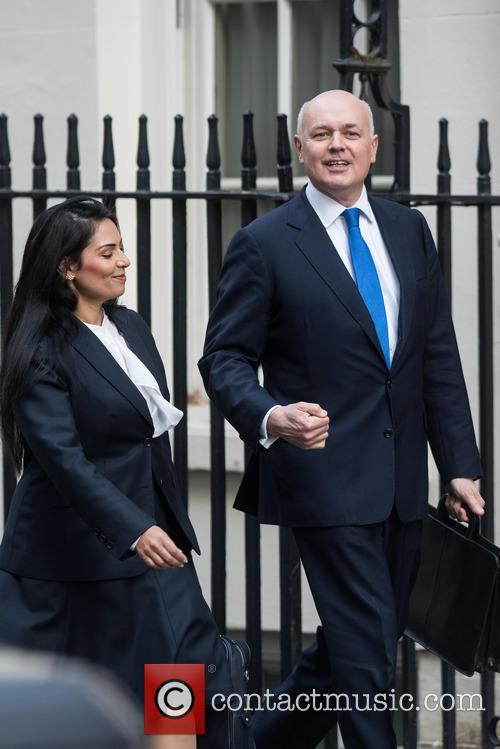Priti Patel and Iain Duncan Smith 2
