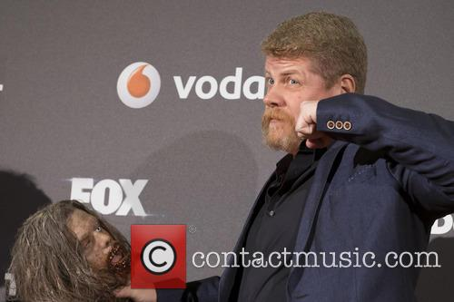 Michael Cudlitz attends the presentation of the TV...