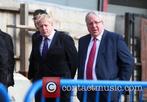 Boris Johnson and Patrick Mcloughlin 2