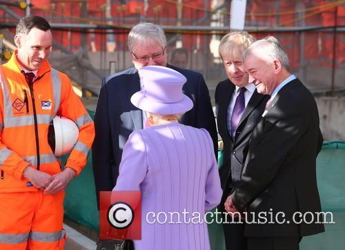 Queen Elizabeth Ii, Boris Johnson and Patrick Mcloughlin 2