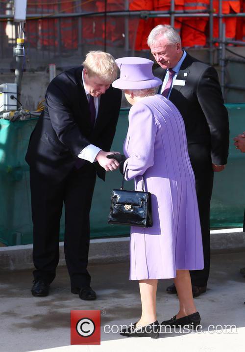 Queen Elizabeth Ii, Boris Johnson and Patrick Mcloughlin 3