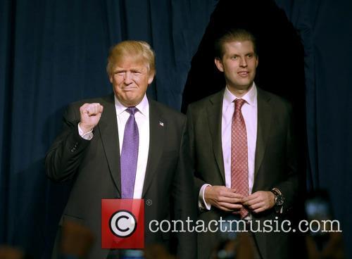 Donald J Trump and Eric Trump 2