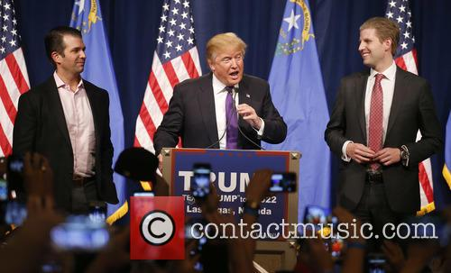 Donald Trump Jr, Donald J Trump and Eric Trump 1