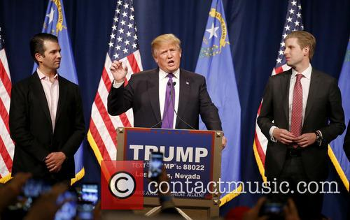 Donald Trump Jr, Donald J Trump and Eric Trump 3