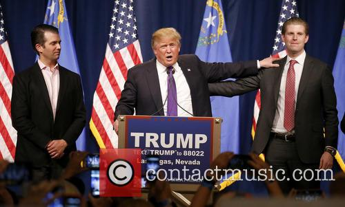 Donald Trump Jr, Donald J Trump and Eric Trump 5