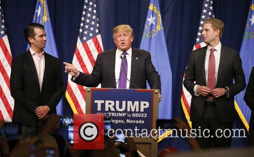 Donald Trump Jr, Donald J Trump and Eric Trump 6