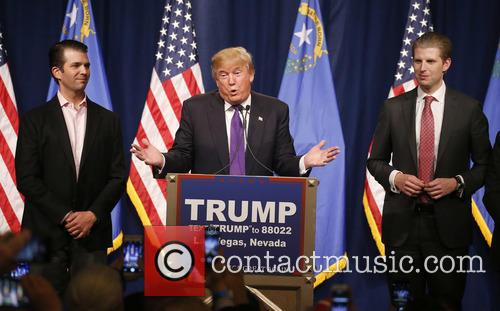 Donald Trump Jr, Donald J Trump and Eric Trump 7
