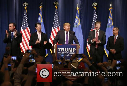 Donald Trump Jr, Donald J Trump and Eric Trump 8