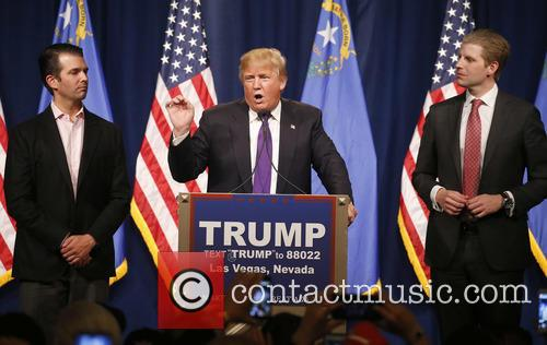 Donald Trump Jr, Donald J Trump and Eric Trump 9